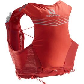 Salomon Adv Skin 5 Backpack Set goji berry